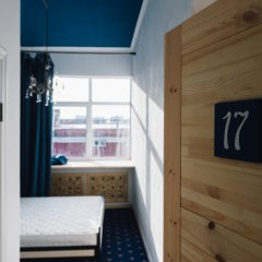 Хостел Fabrika Moscow Улучшенный номер с разными типами кроватей фото 3
