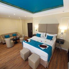 Гостиница Голубая Лагуна Люкс разные типы кроватей