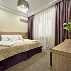 Гостиница Ярославская 3* Номер Делюкс с разными типами кроватей фото 2