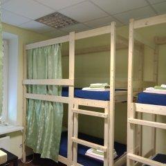 Хостел Меридиан на Фортунатовской Кровать в общем номере с двухъярусной кроватью фото 3