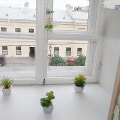 Хостел ВАМкНАМ Захарьевская Кровать в мужском общем номере с двухъярусной кроватью фото 17