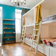 Hostel Moroshka Кровать в общем номере с двухъярусной кроватью фото 5
