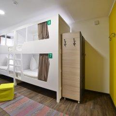 Хостел Nice Пенза Кровать в мужском общем номере с двухъярусной кроватью фото 11