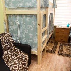 Хостел Рус – Парк Победы Кровать в общем номере с двухъярусной кроватью фото 3