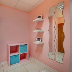 Мини-отель Брусника у метро Красносельская Номер с общей ванной комнатой с различными типами кроватей (общая ванная комната) фото 4
