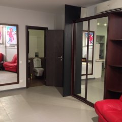 Megapolis Hotel 3* Улучшенные апартаменты с различными типами кроватей фото 24
