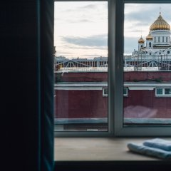 Хостел Fabrika Moscow Улучшенный номер с разными типами кроватей фото 6