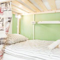Гостиница Хостелы Рус Домодедово Кровать в общем номере с двухъярусной кроватью фото 10