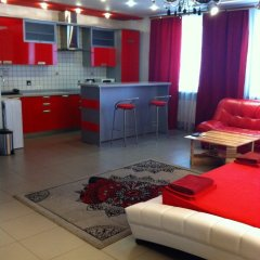 Megapolis Hotel 3* Улучшенные апартаменты с различными типами кроватей фото 20
