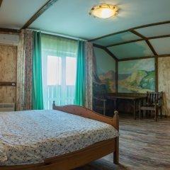 Гостиница Теремок Заволжский Люкс разные типы кроватей