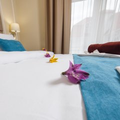 Гостиница Голубая Лагуна Полулюкс разные типы кроватей фото 12