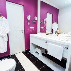 Гостиница Матрёшка Плаза в Самаре 11 отзывов об отеле, цены и фото номеров - забронировать гостиницу Матрёшка Плаза онлайн Самара ванная