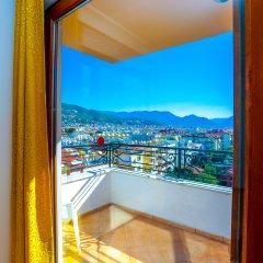 Апарт- Villa Sonata Otel Турция, Аланья - 7 отзывов об отеле, цены и фото номеров - забронировать отель Апарт-Отель Villa Sonata Otel онлайн балкон