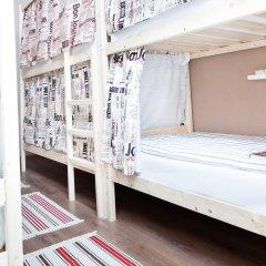 Гостиница Хостелы Рус Домодедово Кровать в общем номере с двухъярусной кроватью фото 8
