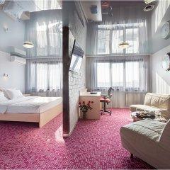 Marins Park Hotel 4* Студия Делюкс с двуспальной кроватью фото 3