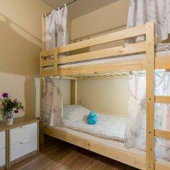Лайк Хостел Санкт-Петербург на Театральной Кровать в общем номере с двухъярусной кроватью фото 8