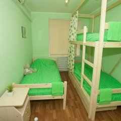 Хостел ВАМкНАМ Захарьевская Номер с общей ванной комнатой с различными типами кроватей (общая ванная комната)