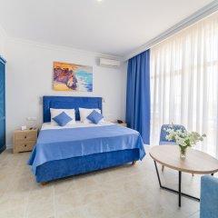 Гостиница Белый Песок в Анапе 7 отзывов об отеле, цены и фото номеров - забронировать гостиницу Белый Песок онлайн Анапа комната для гостей фото 5