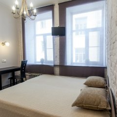Мини-Отель Меланж Номер с общей ванной комнатой с различными типами кроватей (общая ванная комната) фото 4