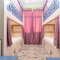 Хостел Good Luck Кровать в общем номере с двухъярусной кроватью фото 2