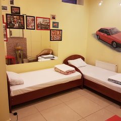 Хостел Ретро комната для гостей фото 3