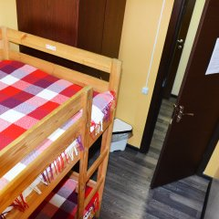 Хостел Пушкин Номер с общей ванной комнатой с различными типами кроватей (общая ванная комната) фото 3