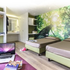 Отель Camping Village Roma Улучшенный номер с различными типами кроватей
