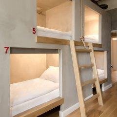 Хостел Джедай Кровать в общем номере с двухъярусной кроватью фото 4