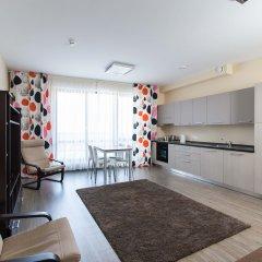 Апарт-Отель Skypark Улучшенные апартаменты с разными типами кроватей фото 15
