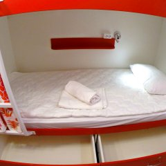 Гостиница HQ Hostelberry Кровать в общем номере двухъярусные кровати фото 30
