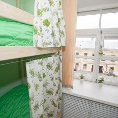 Хостел ВАМкНАМ Захарьевская Кровать в общем номере с двухъярусной кроватью фото 12