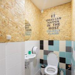 Nice Hostel Павелецкая Номер с общей ванной комнатой с различными типами кроватей (общая ванная комната) фото 10