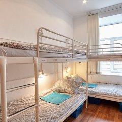 Хостел Абрикос Кровать в женском общем номере с двухъярусными кроватями фото 11