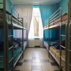 Хостел 7 Sky на Красносельской Кровать в общем номере с двухъярусной кроватью