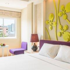 Отель Lantana Pattaya Таиланд, Паттайя - 1 отзыв об отеле, цены и фото номеров - забронировать отель Lantana Pattaya онлайн комната для гостей фото 2