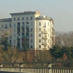 Апартаменты в центре Тбилиси вид на фасад