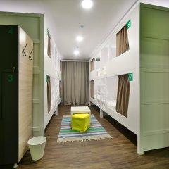 Хостел Nice Пенза Кровать в мужском общем номере с двухъярусной кроватью фото 9
