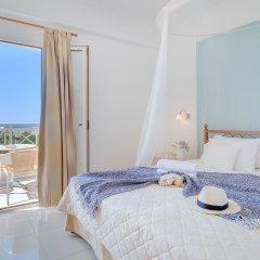 Notos Heights Hotel & Suites 4* Апартаменты с различными типами кроватей фото 4