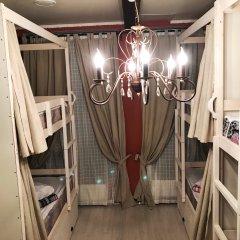 Хостел Kvartira Кровать в женском общем номере с двухъярусной кроватью фото 4