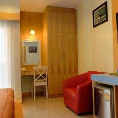 Отель Patong Eyes 3* Стандартный номер с различными типами кроватей фото 4