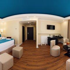Гостиница Голубая Лагуна Номер Делюкс с различными типами кроватей фото 15