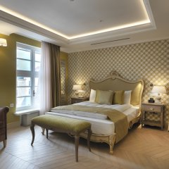 Отель Relais le Chevalier Улучшенный люкс с различными типами кроватей