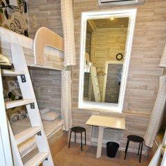 Хостел Казанское Подворье Кровать в мужском общем номере с двухъярусной кроватью фото 4