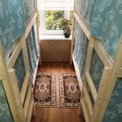 Хостел Рус – Парк Победы Кровать в общем номере с двухъярусной кроватью фото 2