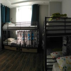Хостел Кислород O2 Home Кровать в общем номере фото 12
