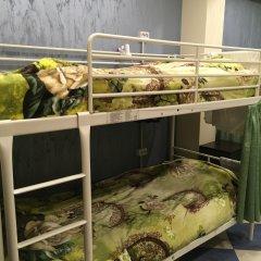 Хостел Аквариум Кровать в общем номере с двухъярусными кроватями фото 8