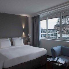 Отель Pullman Paris Tour Eiffel 4* Стандартный номер разные типы кроватей