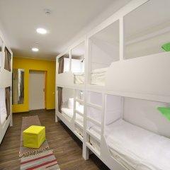 Хостел Nice Пенза Кровать в мужском общем номере с двухъярусной кроватью фото 16