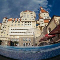 Гостиница Гостиничный комплекс Богатырь в Сочи - забронировать гостиницу Гостиничный комплекс Богатырь, цены и фото номеров вид на фасад