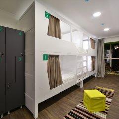 Хостел Nice Пенза Кровать в мужском общем номере с двухъярусной кроватью фото 13